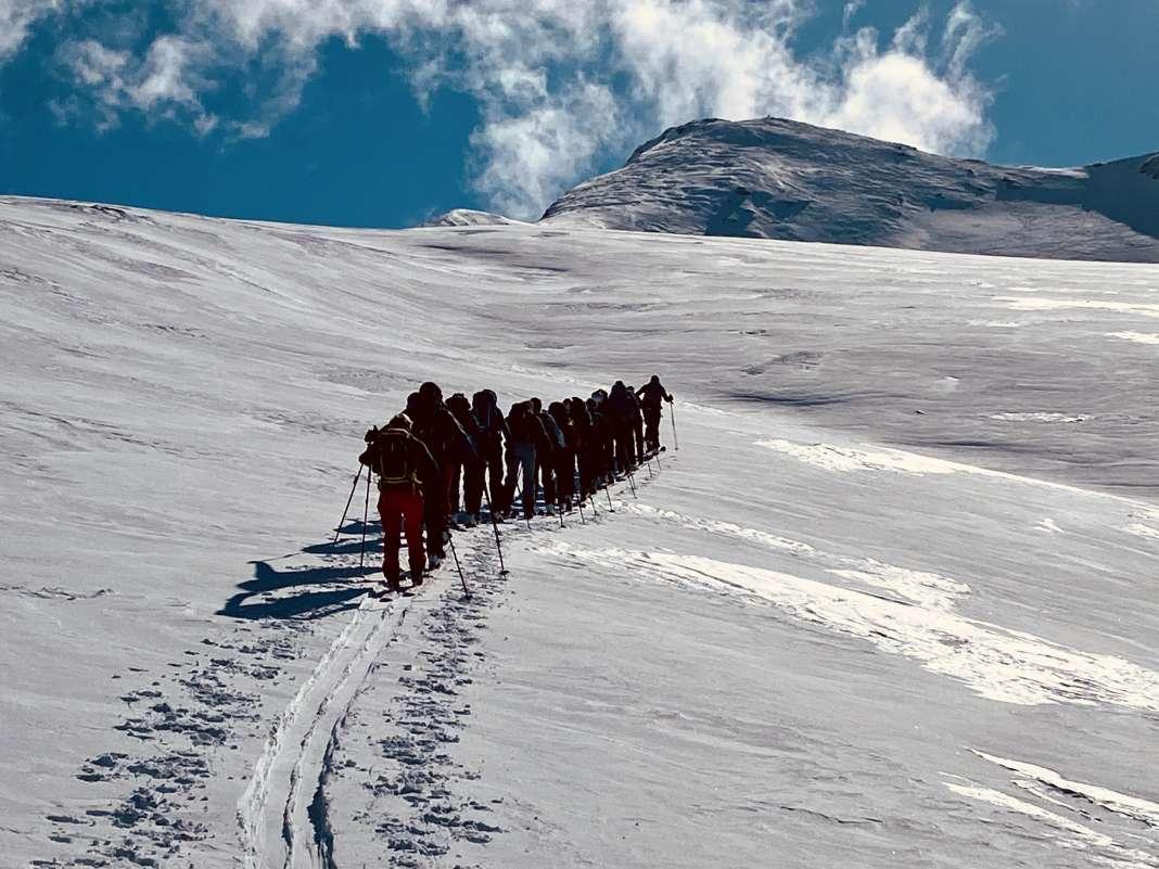 Semaine ski rando Avers 1-6 mars