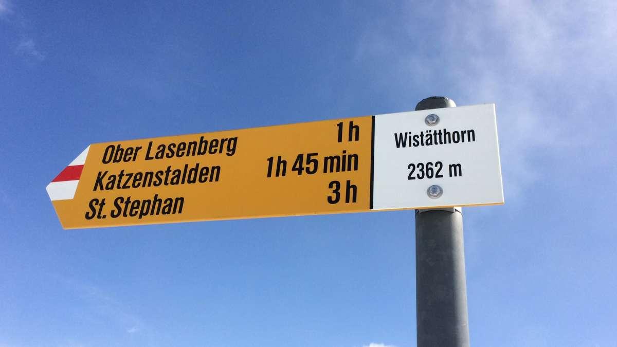 Wistätthorn 8 avril